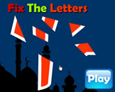 Fix The Letter - Arabic Alphabet Puzzle